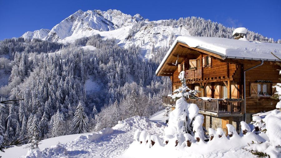 Chalet-in-the-Alps