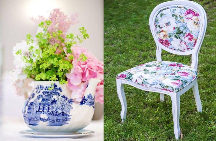 scaun flori la comanda